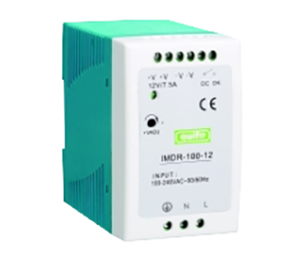Slim Design Single Output Din Rail 100W