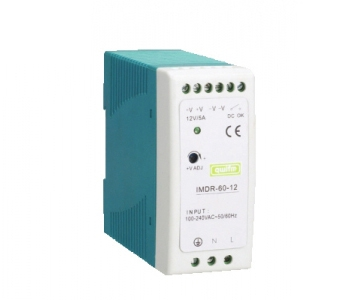Slim Design Single Output Din Rail 40~60W